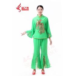 金色凤凰秧歌服(绿)