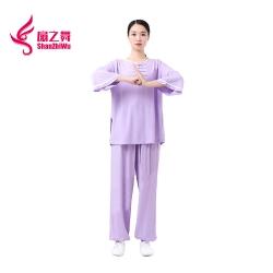 竹节棉太极服