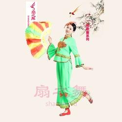 立领中国结秧歌服